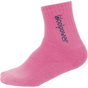 Woolpower Kids 400 Classic Logo Socks sea star rose